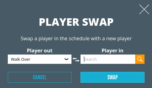 Player swap